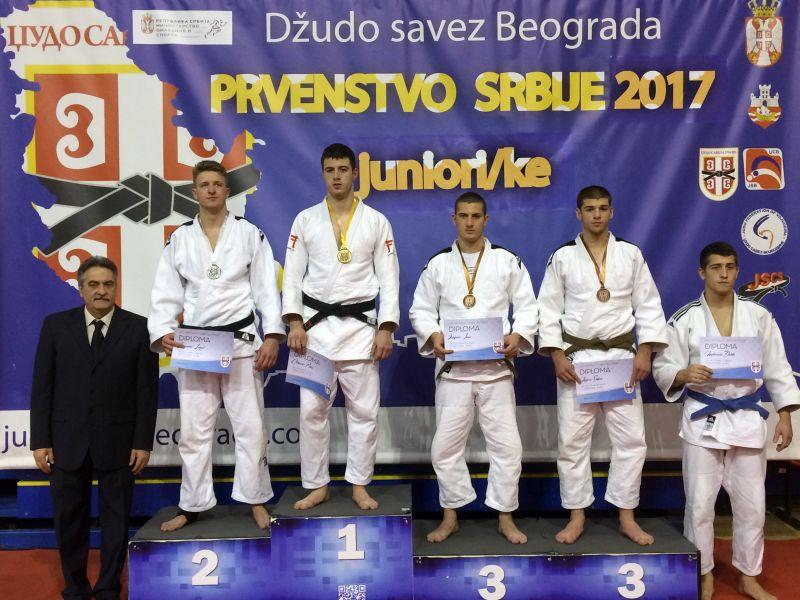 Prvenstvo Srbije za juniore, Beograd, SC Šumice, 18.03.2017g.