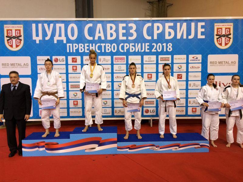 Prvenstvo Srbije za kadete, Šumice 03.02.2018g.
